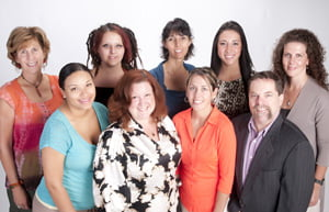 Waldorf chiropractor, Dr. Ronda Sharman and the Life Care Chiropractic and Wellness Center Staff