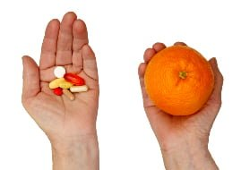 nutrition and vitamin